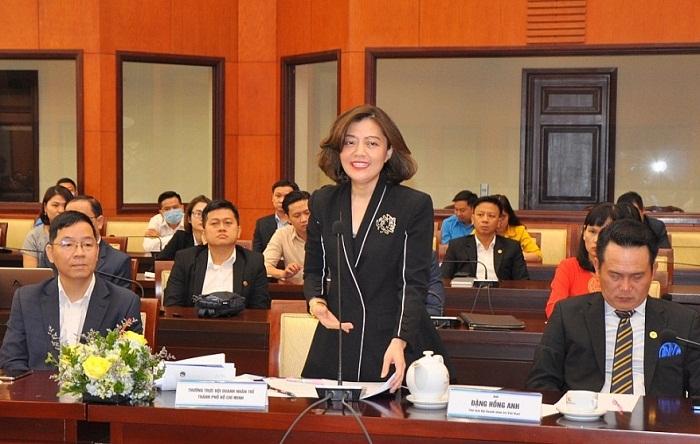 Bà Trương Lý Hoàng Phi - Phó Chủ tịch Hội Doanh nhân trẻ TP. Hồ Chí Minh: TP. Hồ Chí Minh cần có chương trình, chính sách thiết thực hỗ trợ doanh nghiệp trong lĩnh vực khởi nghiệp
