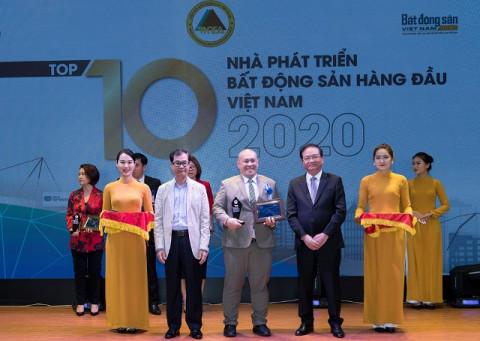Hưng Thịnh Land khẳng định vị thế trong Top 10 Nhà Phát triển Bất động sản hàng đầu Việt Nam 2020