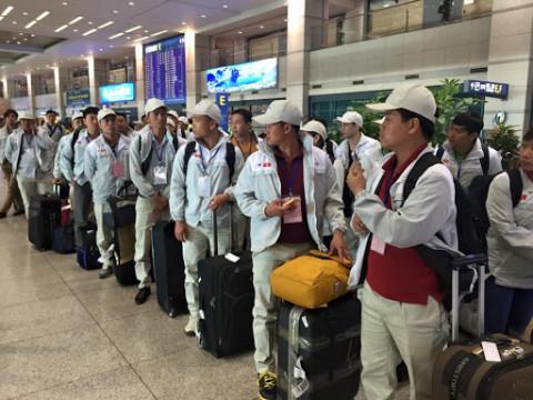 Lao động Việt Nam ở nước ngoài đi làm trở lại