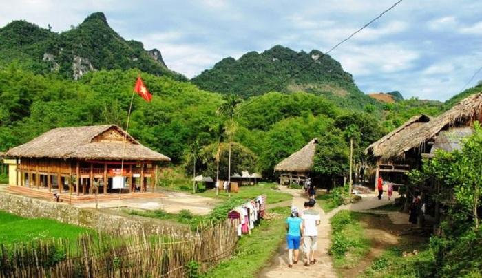 Lưu trú, nghỉ dưỡng (homestay): Ở đây khách du lịch không chỉ được trải nghiệm thực hành nông nghiệp mà còn lưu trú lại. Ảnh: Internet