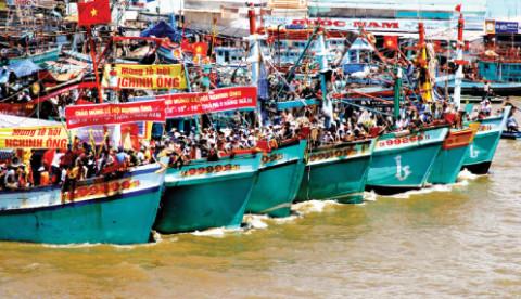 """Cà Mau: Công bố di sản văn hóa phi vật thể quốc gia đối với lễ hội """"Nghinh Ông Sông Đốc"""""""