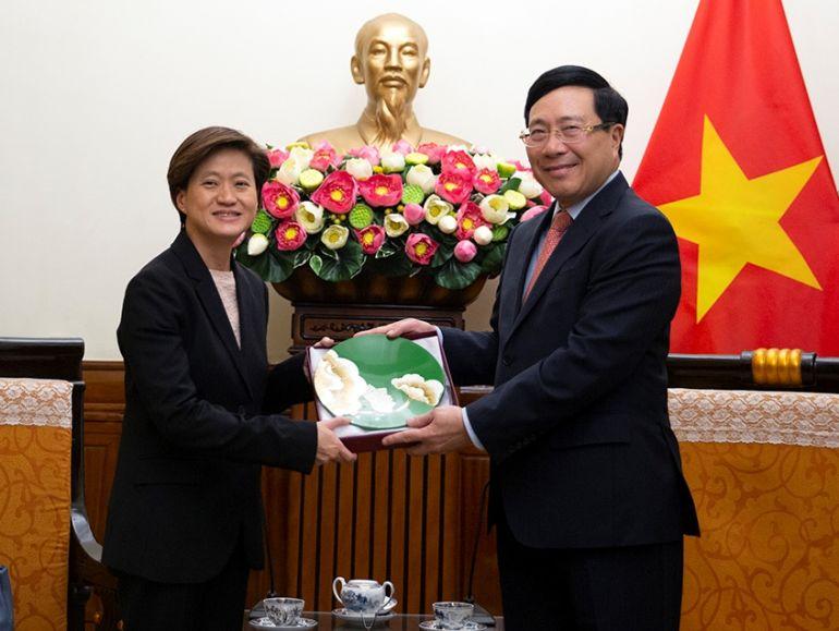 Singapore đã vươn lên dẫn đầu danh các nhà đầu tư nước ngoài tại Việt Nam