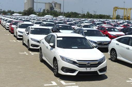 Số lượng ô tô nhập khẩu của cả nước tăng 31,1% trong 3 tháng đầu năm