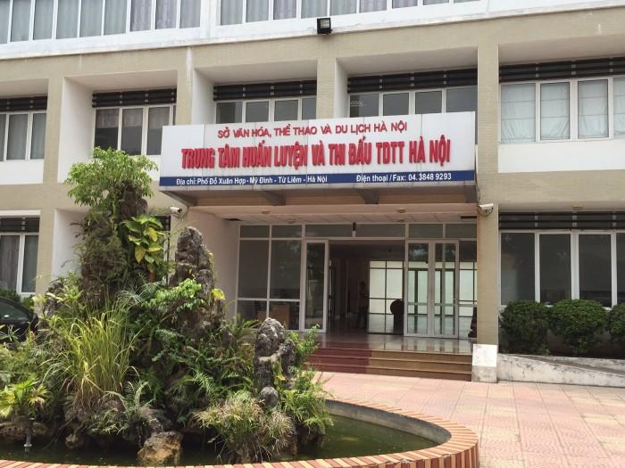 Trụ sở Trung tâm huấn luyện và Thi đấu thể dục thể thao Hà Nội