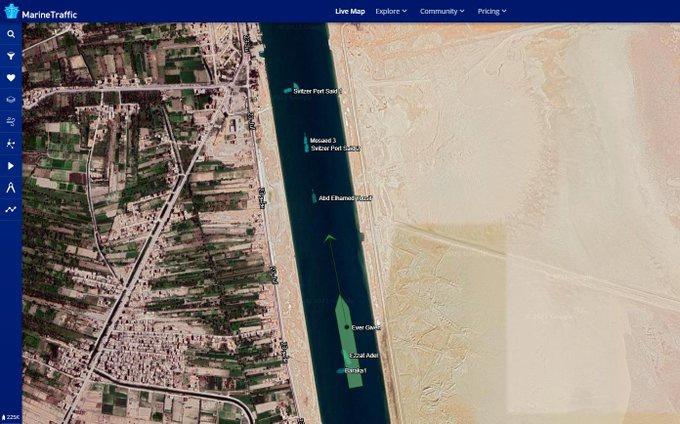 Tàu Ever Given đã được giải cứu, kênh Suez sắp mở cửa trở lại