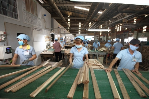 Xuất khẩu gỗ và lâm sản đạt gần 4 tỷ USD