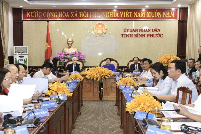 Bình Phước tổ chức hội nghị trực tuyến xúc tiến đầu tư với Đài Loan