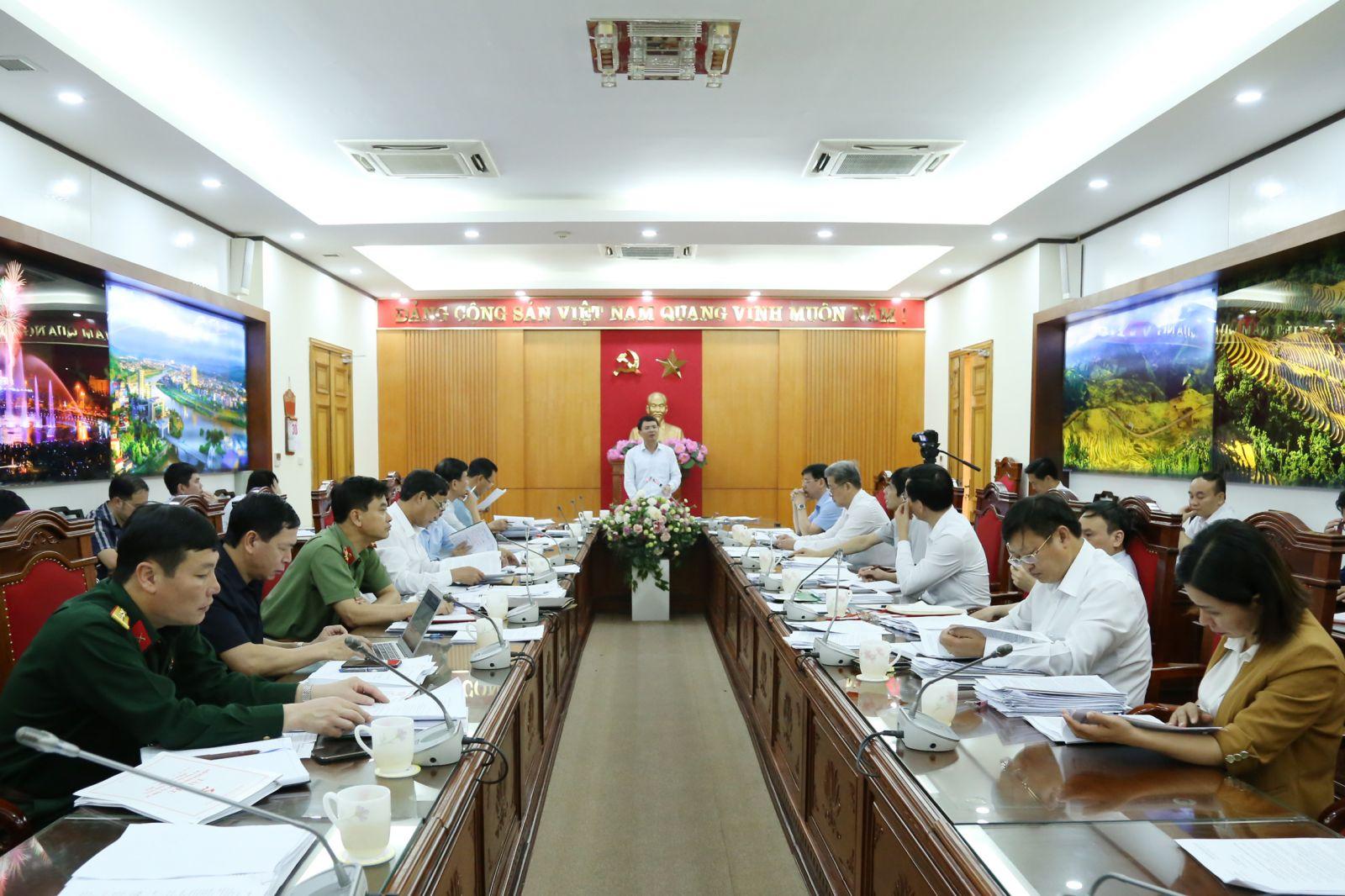 Lào Cai: Ban Thường vụ Tỉnh ủy tổ chức Hội nghị lần thứ 9