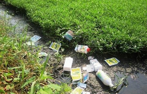 Lạm dụng thuốc trừ sâu, một phần ba đất nông nghiệp thế giới nguy cơ ô nhiễm