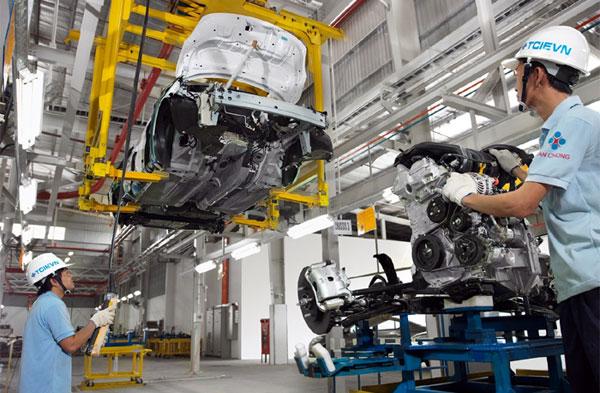 Vĩnh Phúc: Sản xuất công nghiệp quý I ước tăng 7,7% so với cùng kỳ