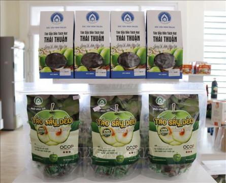 Đẩy mạnh phát triển sản phẩm chế biến từ quả táo Ninh Thuận