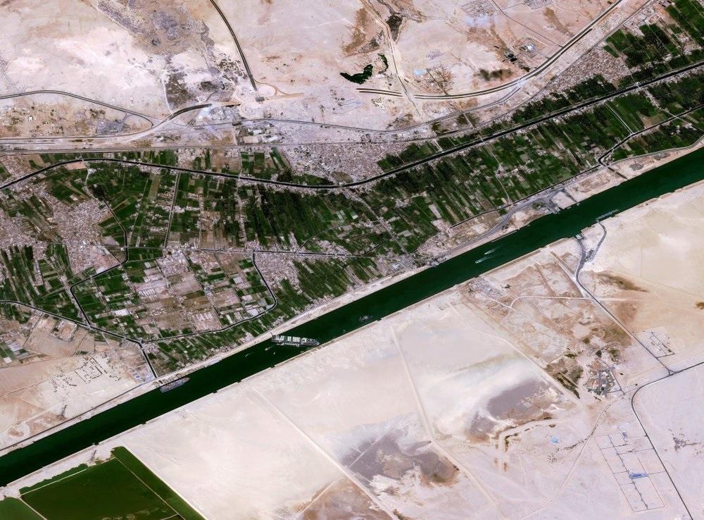 Việc Ever Gieven mắc kẹt tại kênh đào Suez là lý do khiến nhiều doanh nghiệp Trung Quốc được hưởng lợi