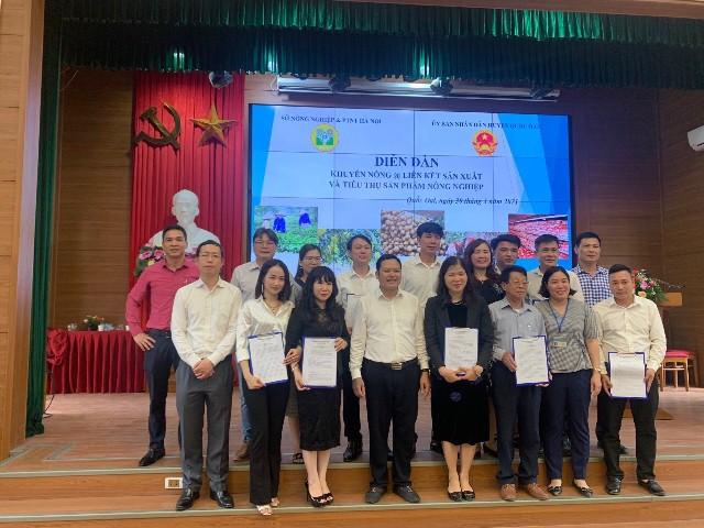 Ngũ cốc Túc Mạch tham dự Diễn đàn Khuyến nông Liên kết Sản xuất và Tiêu thụ Sản phẩm Nông nghiệp