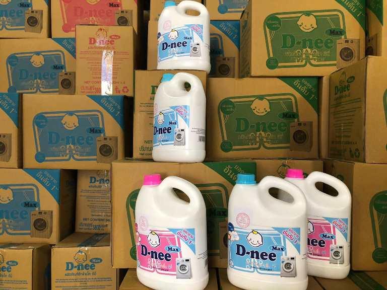 Triệt phá cơ sở sản xuất nước giặt giả mạo nhãn hiệu