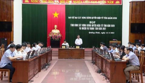 Quảng Bình: Tập trung việc xây dựng chính quyền điện tử