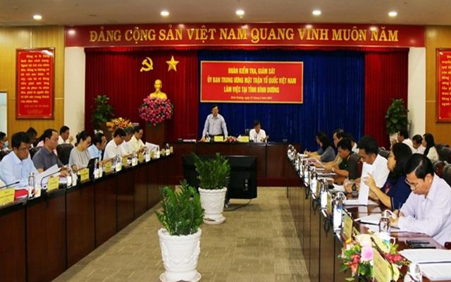 Đồng chí Nguyễn Hữu Dũng, Phó Chủ tịch Ủy ban Trung ương MTTQ Việt Nam phát biểu.