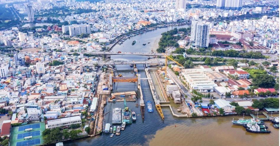 Tiếp tục triển khai dự án giải quyết ngập do triều khu vực TP.Hồ Chí Minh