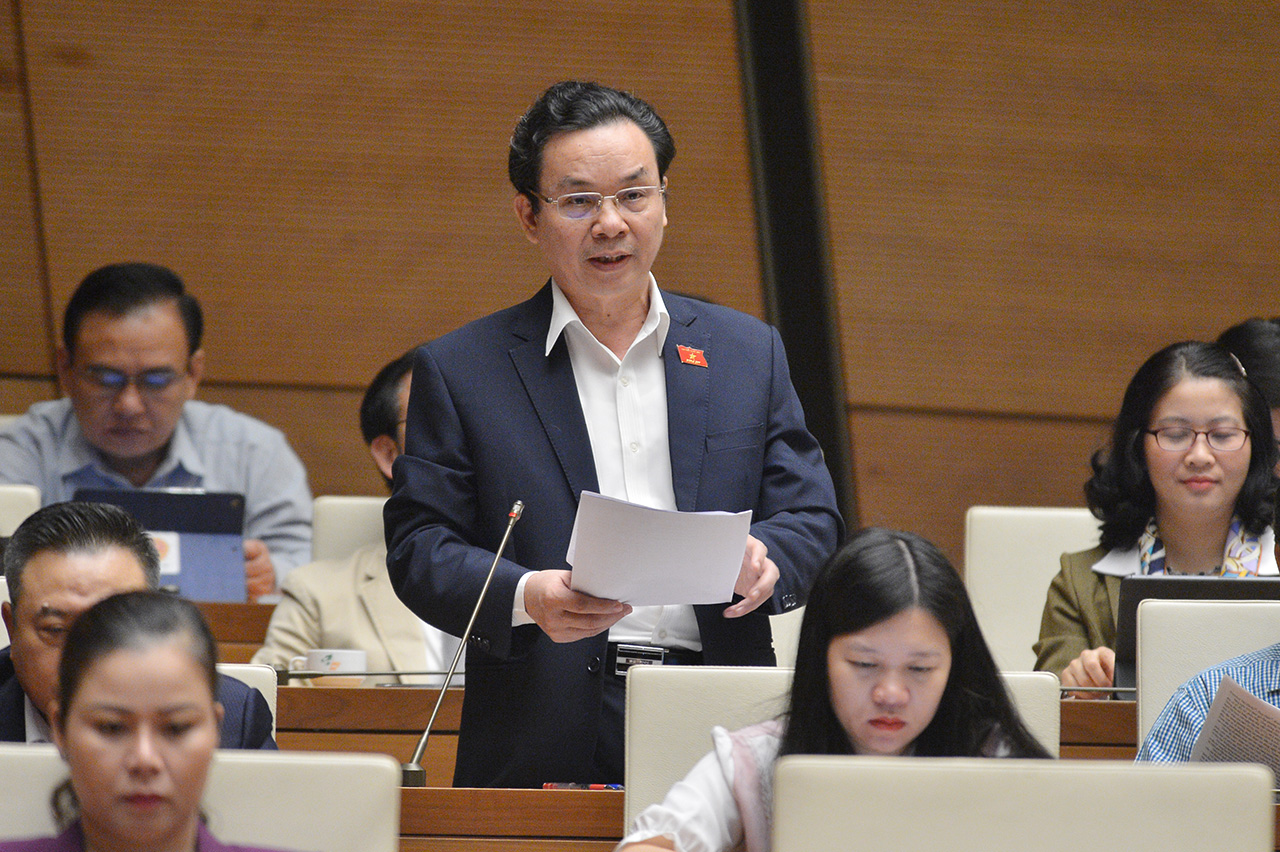 Ông Hoàng Văn Cường- Đoàn ĐBQH Tp. Hà Nội