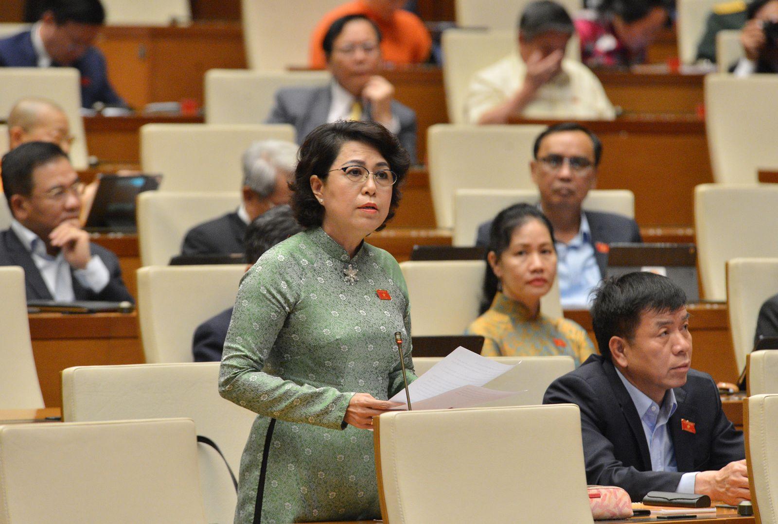 Bà Tô Thị Bích Châu- Đoàn ĐBQH TP Hồ Chí Minh