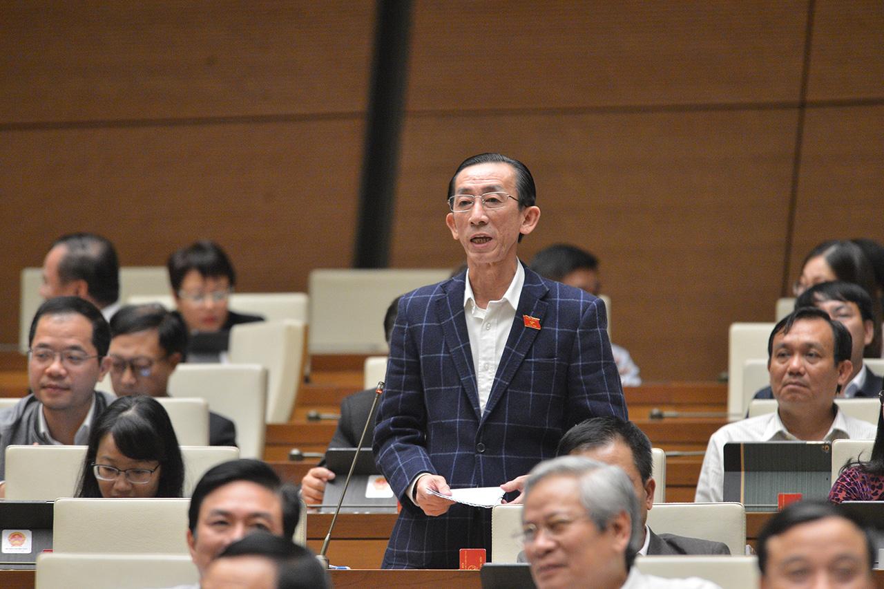Ông Trần Hoàng Ngân - Đoàn ĐBQH TP.HCM. Nguồn ảnh: Internet