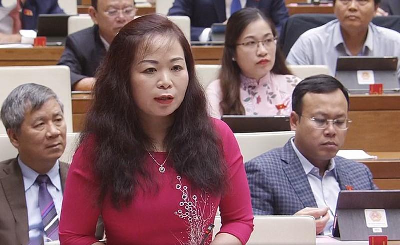 Bà Vũ Thị Lưu Mai - Đoàn ĐBQH Tp. Hà Nội