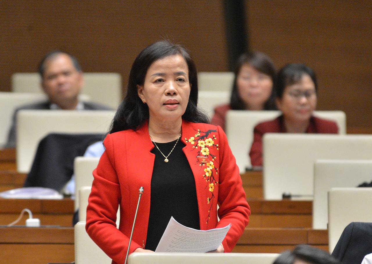 Bà Nguyễn Thị Kim Thúy - Đoàn ĐBQH Tp. Đà Nẵng. Nguồn: Internet