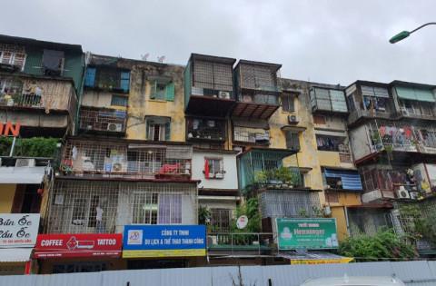 Hà Nội: Quận Ba Đình: Chung cư cũ xây lại được phép tăng tầng cao