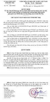 Phú Thọ: Công bố 25 danh mục thủ tục hành chính mới ban hành, sửa đổi, bổ sung, thay thế thuộc lĩnh vực đường thủy nội địa