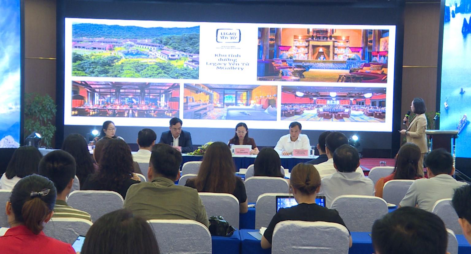 Sở Du lịch tổ chức họp báo công bố hoạt động kích cầu, xúc tiến quảng bá du lịch Quảng Ninh năm 2021.