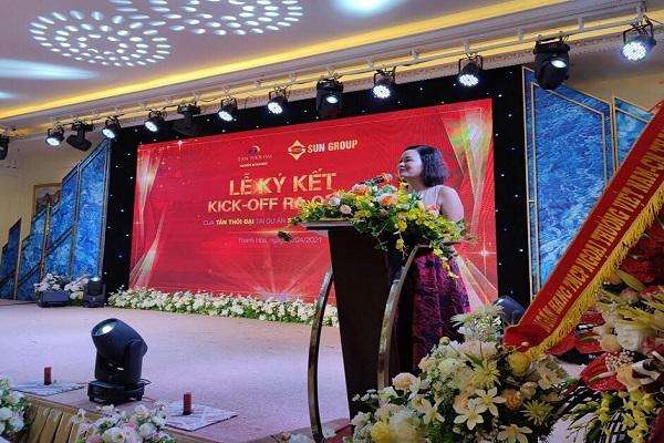 Thành phố Thanh Hóa: Công ty Tân Thời Đại ký kết hợp tác dự án Sun Group - Sầm Sơn