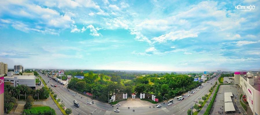 Tuyến đường Quốc Lộ 13 ngay thành phố Thuận An, Bình Dương. Nguồn ảnh: Internet