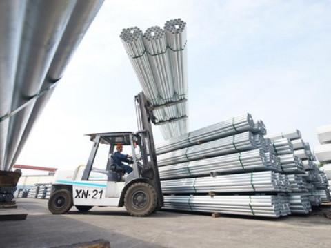 Đầu năm 2021 sản lượng bán hàng các loại thép của Hòa Phát lần đầu tiên đạt trên 1 triệu tấn/tháng
