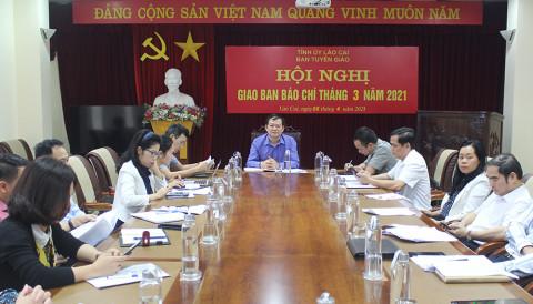 Ban Tuyên giáo Tỉnh ủy Lào Cai: Đẩy mạnh tuyên truyền bầu cử đại biểu Quốc hội khóa XV và đại biểu HĐND các cấp nhiệm kỳ 2021 – 2026