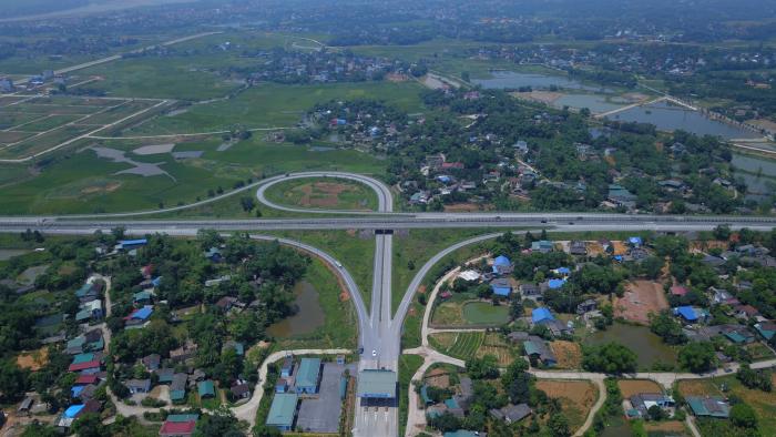 Nút giá IC11 Cao tốc Nội Bài- Lào Cai tạo động lực cho Phú Thọ phát triển kinh tế vùng