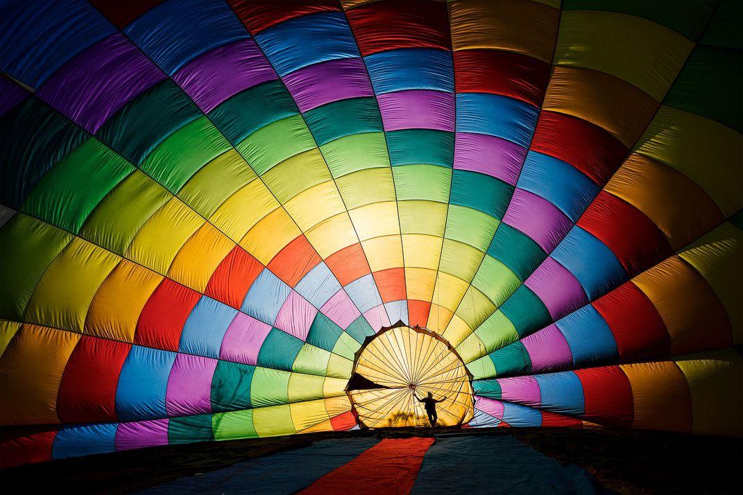 Cảnh khinh khí cầu Việt Nam thắng giải ảnh đẹp quốc tế