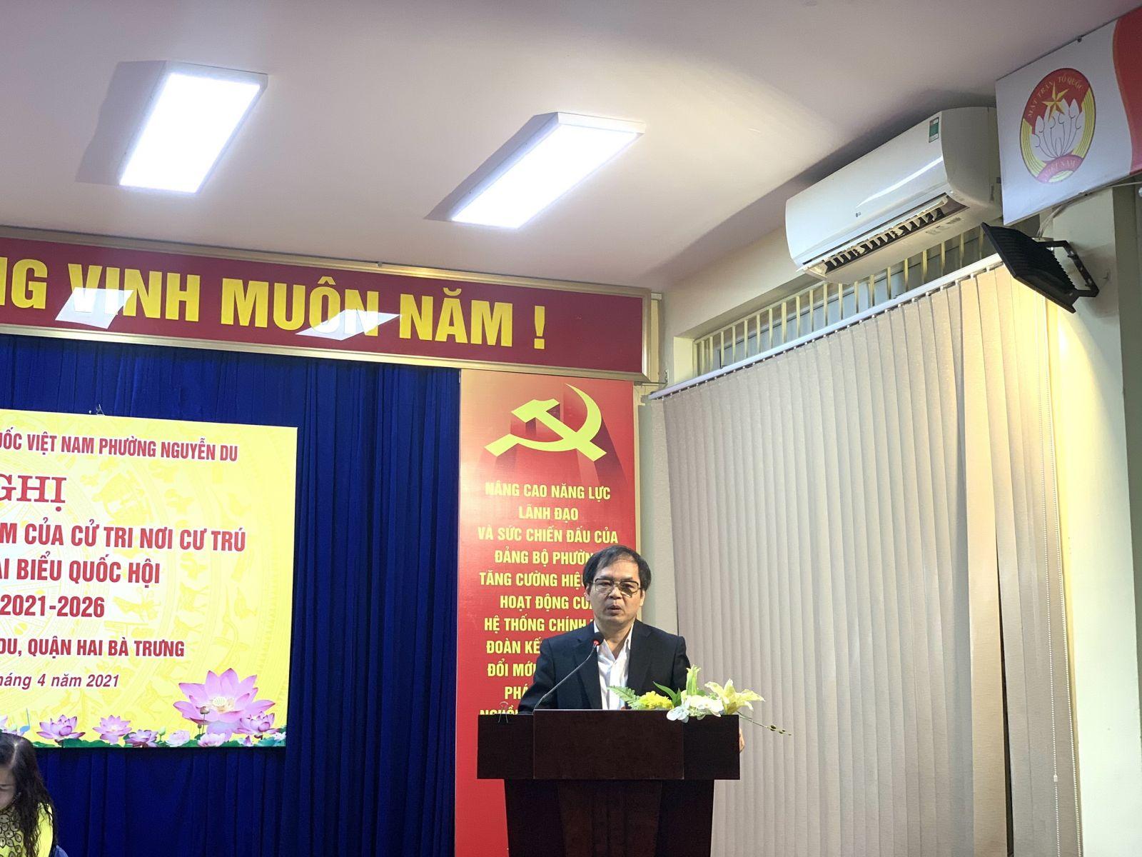 TS. Tô Hoài Nam - Phó chủ tịch Thường trực kiêm Tổng thư ký VINASME