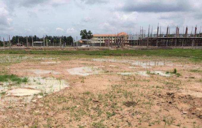 Khu đất dự án của Công ty CP Phúc Đại Cát vẫn là khu đất trống
