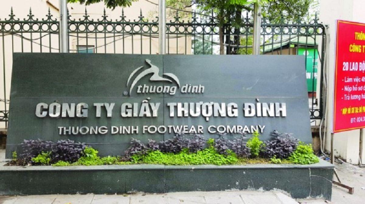 Công ty cổ phần Giày Thượng Đình đang chật vật trong khó khăn