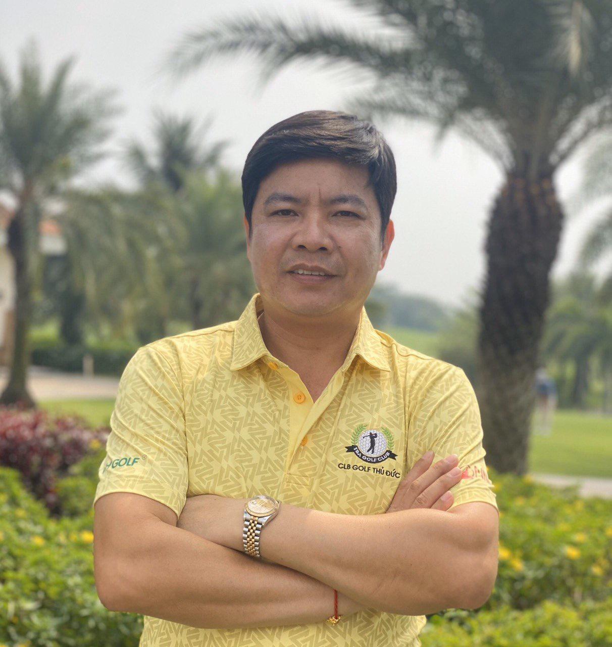 Ông Trần Thanh Tùng - Chủ nhiệm CLB Golf Thủ Đức - Giám đốc Công ty TNHH TM SX Xuất Nhập Khẩu Tùng Mai