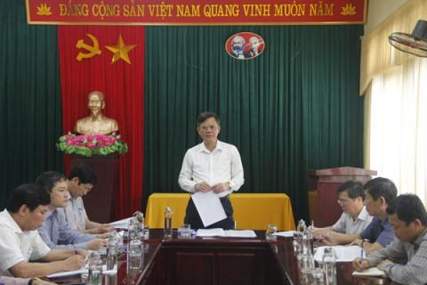Đài phát thanh - truyền hình Quảng Bình cần bám sát nhiệm vụ chính trị của tỉnh để cụ thế hóa vào nhiệm vụ chuyên môn