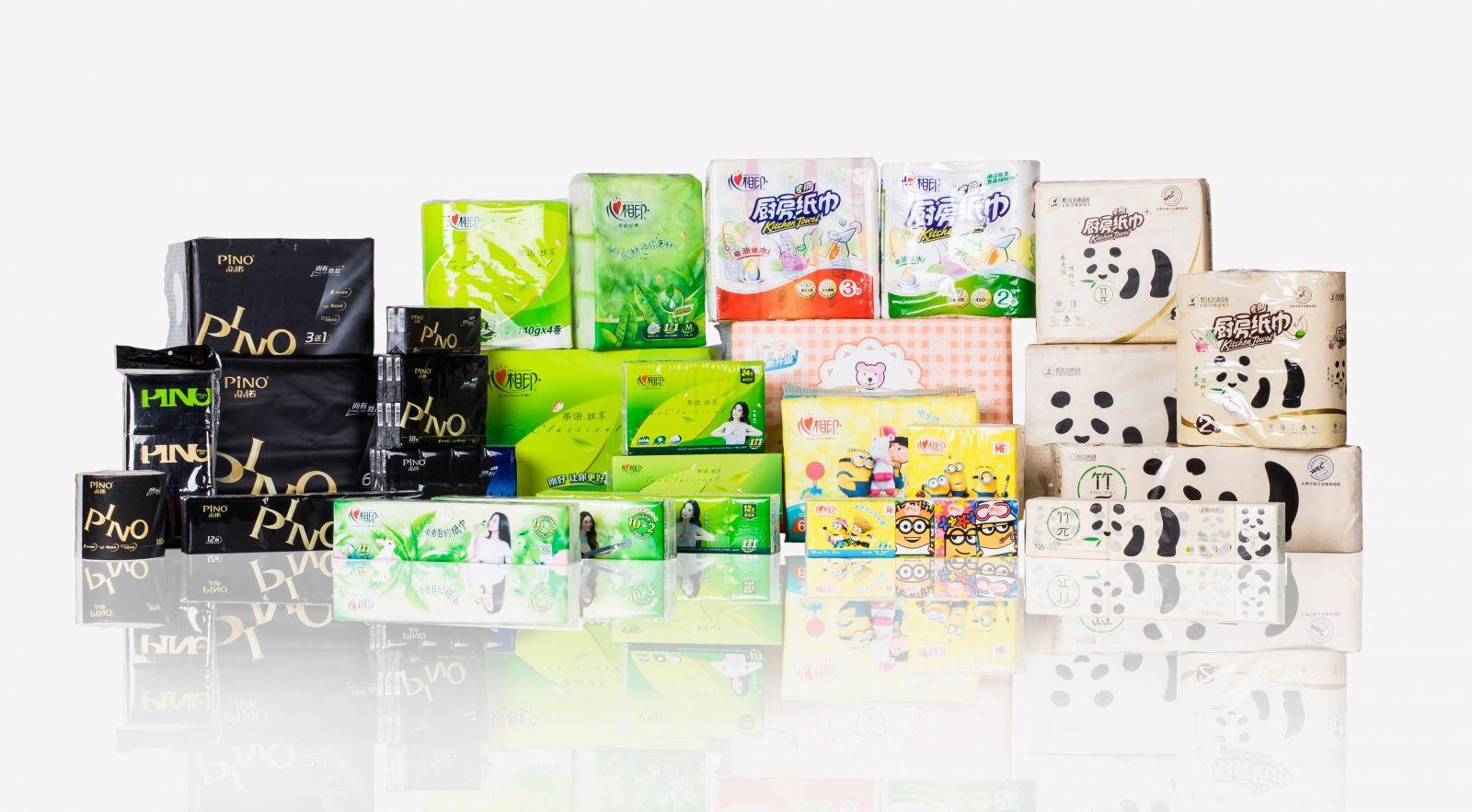 Một số dòng sản phẩm của Hengan Group