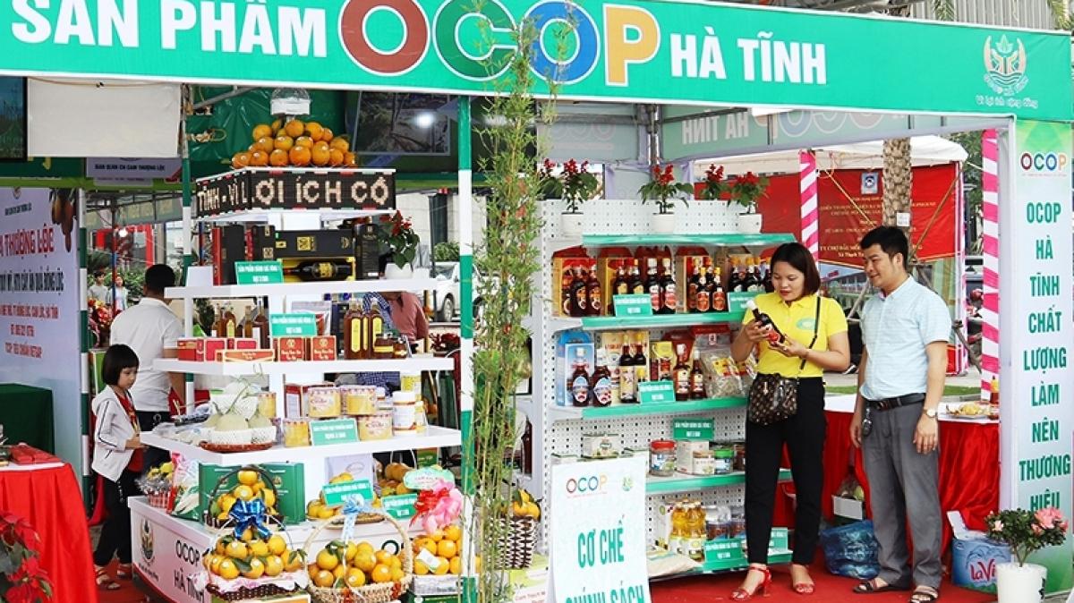 Mở Hội chợ sản phẩm OCOP khu vực Bắc Trung Bộ