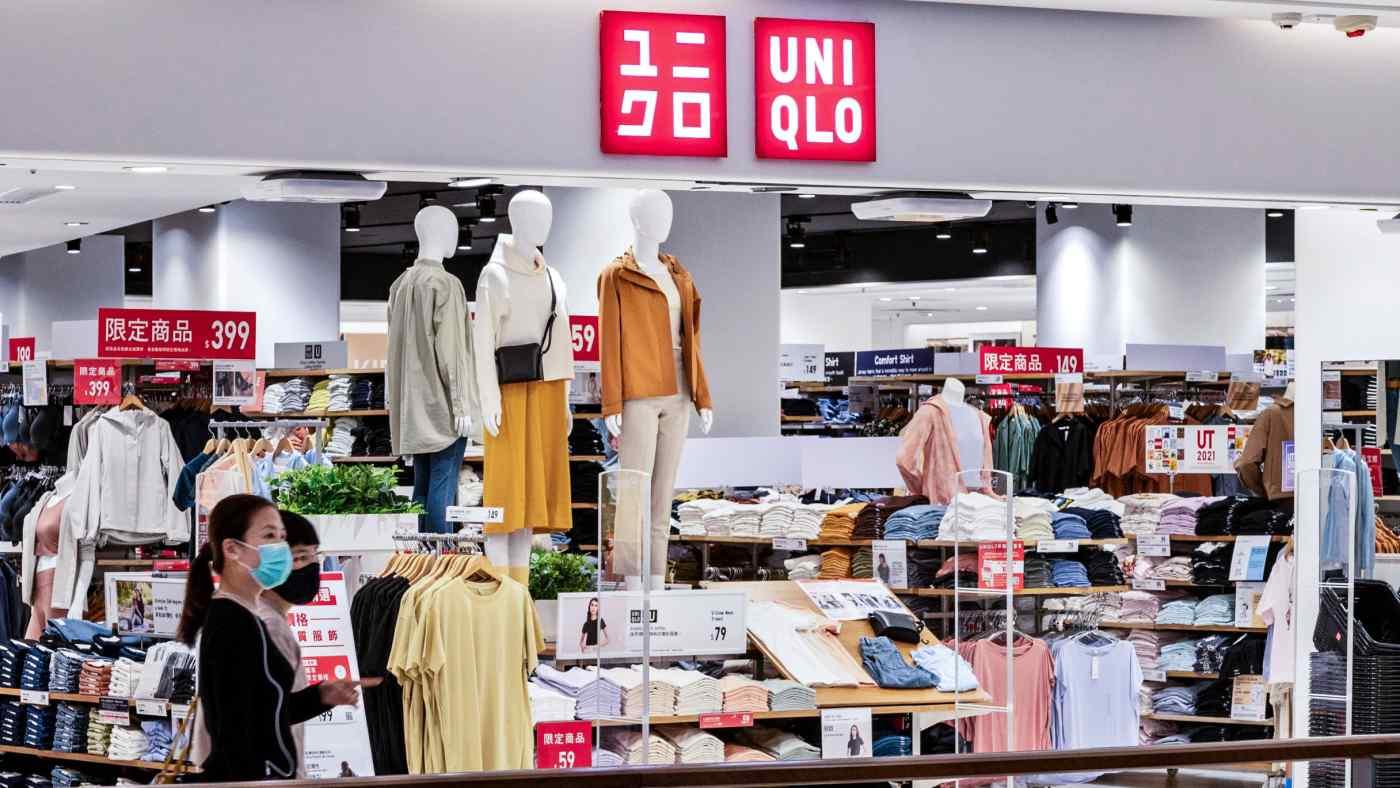 Nhà điều hành Fast Retailing của Uniqlo báo cáo lợi nhuận nửa năm tăng. © Hình ảnh Getty
