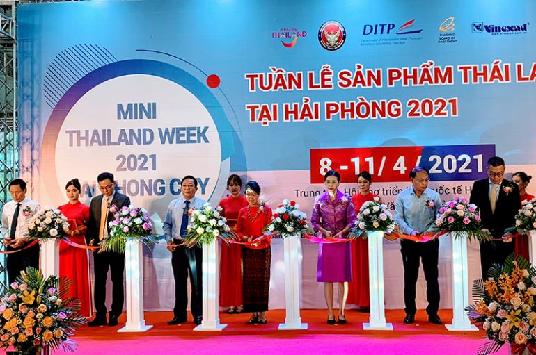 Tuần lễ sản phẩm Thái Lan 2021 tại Hải Phòng