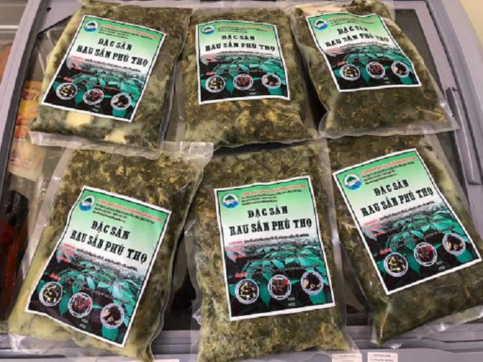 Đặc sản rau Sắn Phú Thọ. Ảnh: Internet