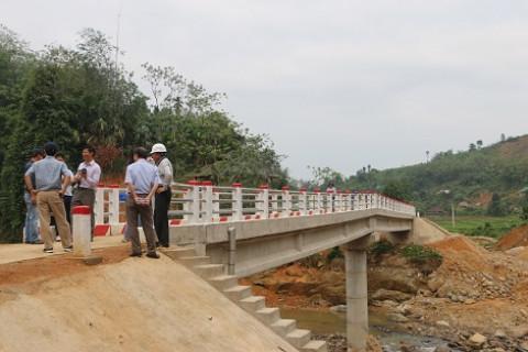 Phú Thọ: 65 cây cầu thuộc dự án LRAMP làm thay đổi nhiều làng quê nông thôn
