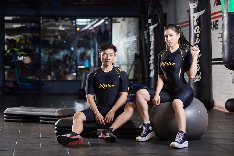 Active - trang phục Fitness ứng dụng công nghệ EMS tại Việt Nam