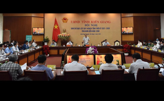 Kiên Giang: Đẩy nhanh tiến độ thực hiện Quy hoạch tỉnh Kiên Giang đến năm 2030