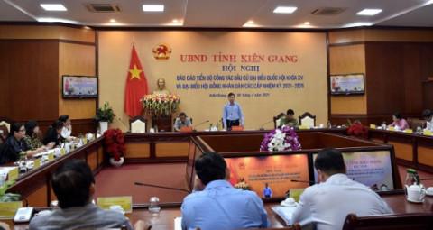 Kiên Giang: Công tác chuẩn bị cho cuộc bầu cử đại biểu Quốc hội và HĐND các cấp nhiệm kỳ 2021- 2026 diễn ra đúng tiến độ