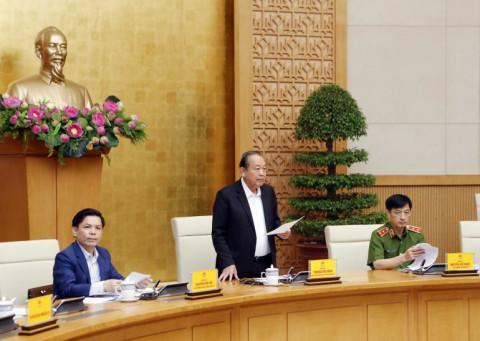 Phó Thủ tướng Thường trực chỉ đạo điều tra, xác minh xem có ai chống lưng cho xe quá tải hay không?